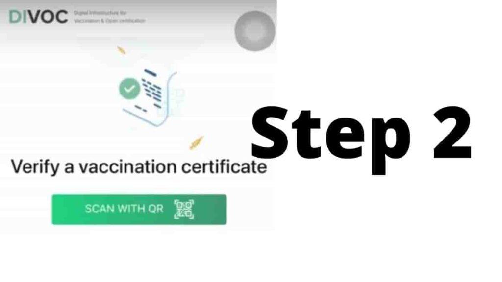 Cowin Vaccine Certificate Verification