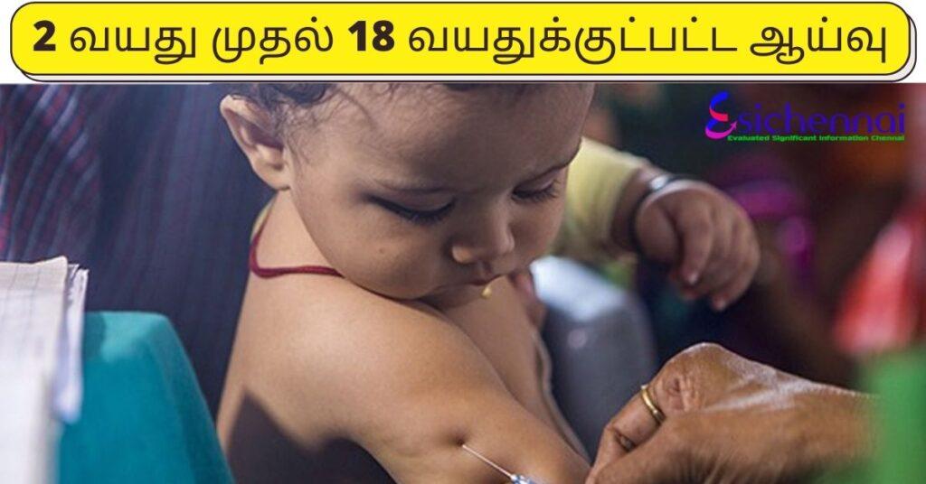Corona vaccine study of 2 to 18-year-olds